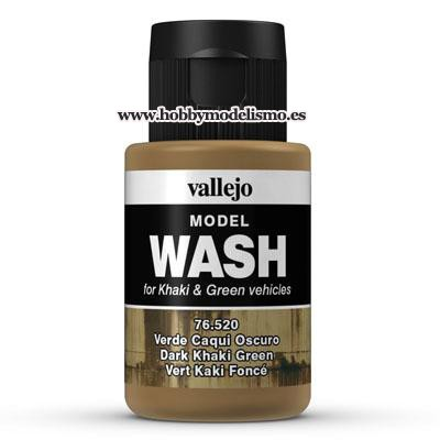 MODEL WASH: VERDE CAQUI OSCURO (35 ml) - Vallejo 76520