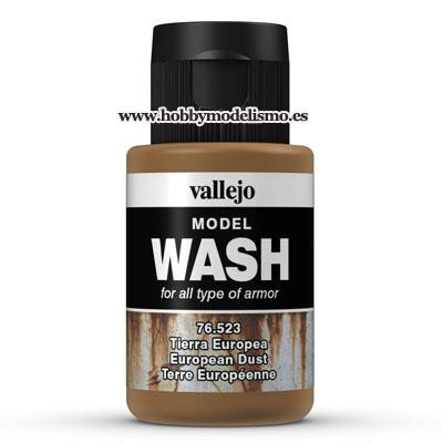 MODEL WASH: TIERRA EUROPEA (35 ml)