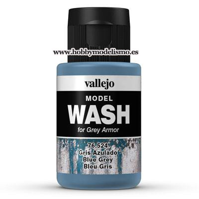 MODEL WASH: GRIS AZULADO (35 ml) - Vallejo 76524