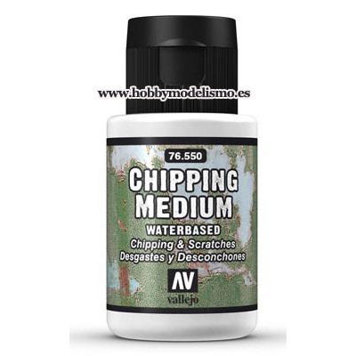CHIPPING MEDIUM (35 ml) DESGASTES Y DESCONCHONES - Vallejo 76550