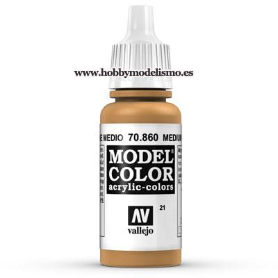 PINTURA ACRILICA CARNE MEDIA (17 ml) Nº21