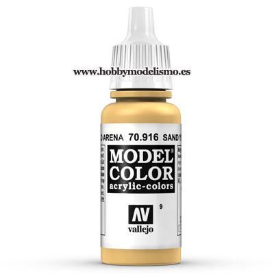 PINTURA ACRILICA AMARILLO ARENA (17 ml) Nº9 FS33696 RAL1002