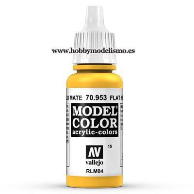 PINTURA ACRILICA AMARILLO MATE (17 ml) Nº15 RLM04