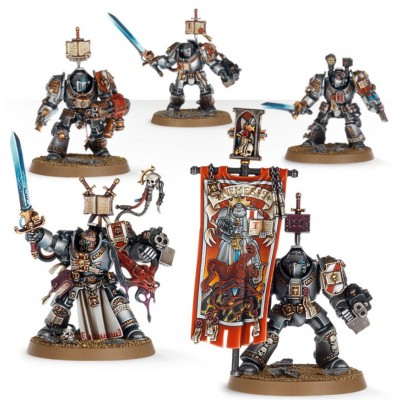 GREY KNIGHTS PALADIN SQUAD - GAMES WORKSHOP 57-09