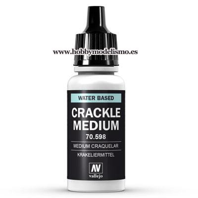 PINTURA ACRILICA MEDIUM CRAQUELADOR (17 ml) Nº198