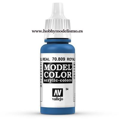 PINTURA ACRILICA AZUL REAL (17 ml) Nº54