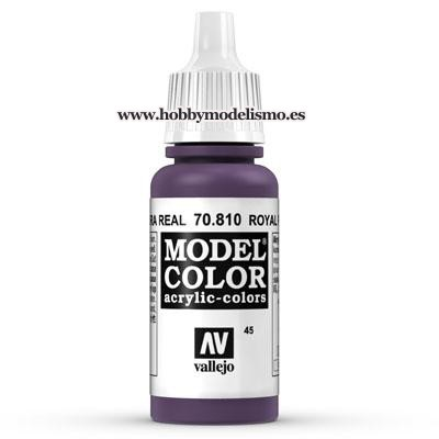 PINTURA ACRILICA PURPURA REAL (17 ml) Nº45