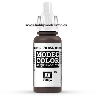 PINTURA ACRILICA PATINA MARRON (17 ml) Nº204