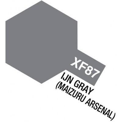 PINTURA ACRILICA GRIS MARINA JAPONESA -Arsenal Maizuru- MATE XF-87 (10 ml)