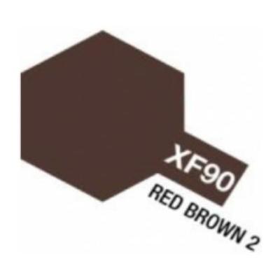 PINTURA ACRILICA MARRON OSCURO 2 MATE XF-90 (10 ml)