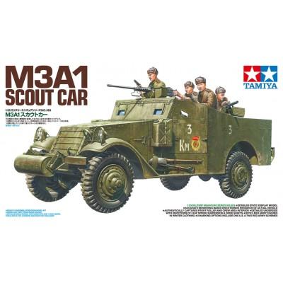 VEHICULO BLINDADO M-3 A1 SCOUT CAR -Sovietico- 1/35 - Tamiya 35363