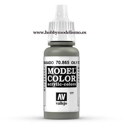 PINTURA ACRILICA ACERO ENGRASADO (17 ml) Nº177