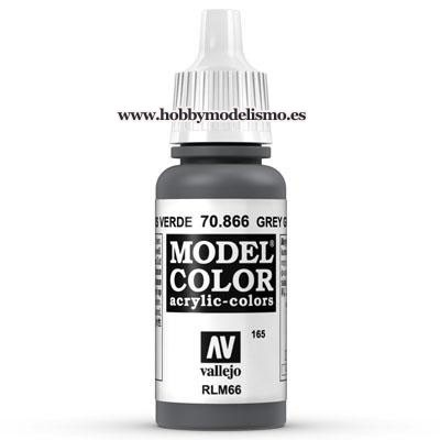 PINTURA ACRILICA GRIS VERDE (17 ml) Nº165 RLM66 FS36134