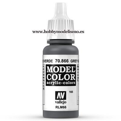 PINTURA ACRILICA GRIS VERDE (17 ml) Nº165 RLM66 FS36134
