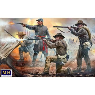 American Civil War Series: -Do or die!- 18º Reg. North Carolina 1/35 - Master Box 3581