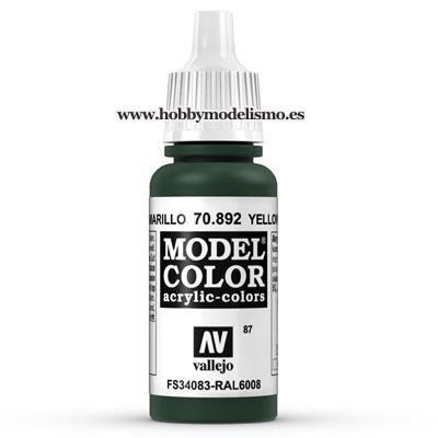 PINTURA ACRILICA OLIVA AMARILLO (17 ml) Nº87 FS34096 RAL6008