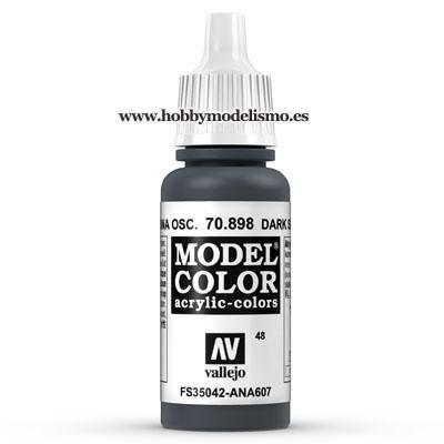 PINTURA ACRILICA AZUL MARINA OSCURO (17 ml) Nº48 FS35042 RAL5004