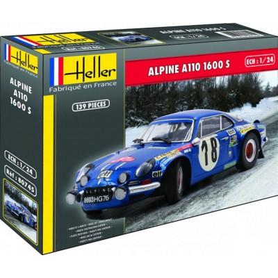 RENAULT ALPINE A110 (1600) 1/24 - Heller 80745