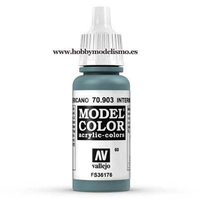 PINTURA ACRILICA AZUL AMERICANO (17 ml) Nº60 FS35164 RAL7031