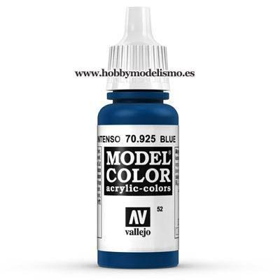 PINTURA ACRILICA AZUL INTENSO (17 ml) Nº52