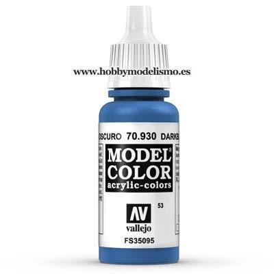 PINTURA ACRILICA AZUL OSCURO (17 ml) Nº53 RAL5005