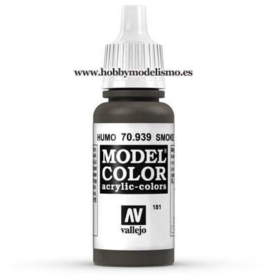 PINTURA ACRILICA HUMO TRANSPARENTE (17 ml) Nº181