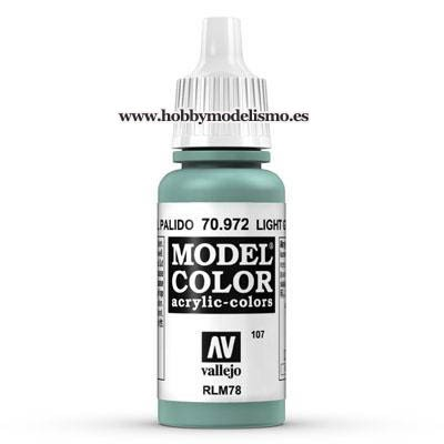 PINTURA ACRILICA VERDE AZUL PALIDO (17 ml) Nº107 RLM78