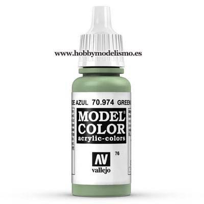 PINTURA ACRILICA VERDE AZUL (17 ml) Nº76 FS34373 RAL6021