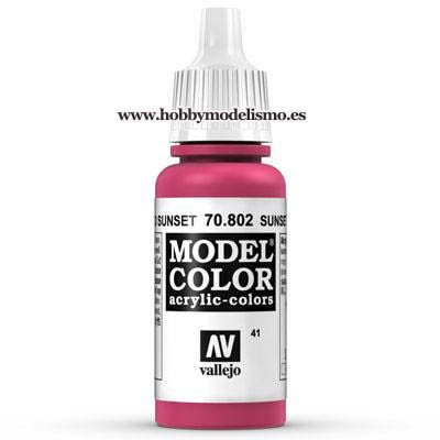 PINTURA ACRILICA ROJO SUNSET (17 ml) Nº41