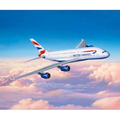 AIRBUS A380-800 -British Airways- ESCALA 1/144 - Revell 03922
