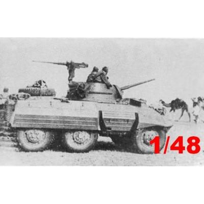 AUTO AMETRALLADORA-CAÑON M-8 ESPAÑA 1/48