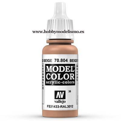 PINTURA ACRILICA ROJO BEIGE (17 ml) Nº36 FS31433 RAL3012