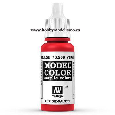 ROJO CADMIO BERMELLON (17 ml) Nº28 FS31302 RAL3020