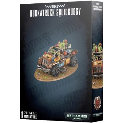 ORKS RUKKATRUKK SQUIGBUGGY - GAMES WORKSHOP 50-35
