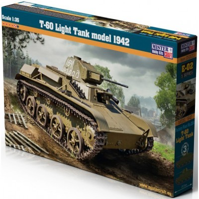 CARRO LIGERO T-70 MODELO 1941 - ESCALA 1/35 - MISTER CRAFT HOBBY KITS 050023