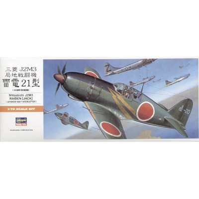 MITSUBISHI J2M3 RAIDEN (JACK) -1/72- Hasegawa A5