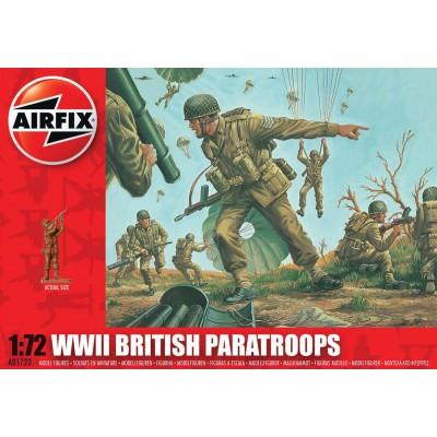 PARACAIDISTAS BRITANICOS 2ª G.M. (41 piezas) 1/72 - Airfix A01723