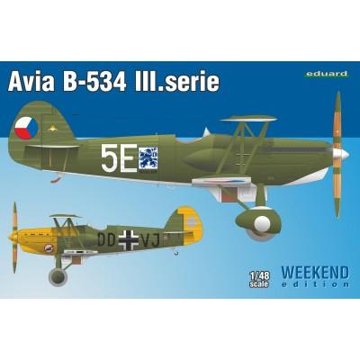 AVIA B-534 Serie III 1/48 - Eduard 8478