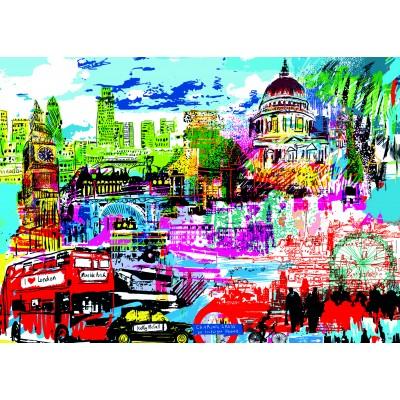 PUZZLE 1000 PZS I LOVE LONDON- HEYE 29682