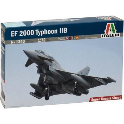 EUROFIGHTER EF-2000 TYPHOON II B - ESCALA 1/72 - ITALERI 1340