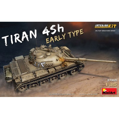 CARRO DE COMBATE TIRAN-4 -SH Early- (Interior Kit) 1/35 - MiniArt 37021