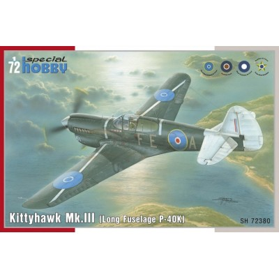 CURTIS P-40 K / MK-III Kittyhawk 1/72 - Special Hobby SH72380