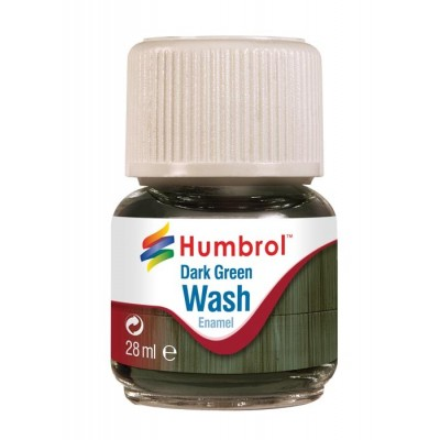 ENAMEL WASH VERDE OSCURO (28 ml)