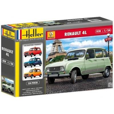 RENAULT 4L GTL -Escala 1/24- Heller 80759