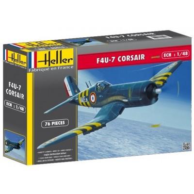 VOUGHT F4U-7 CORSAIR - Heller 80415