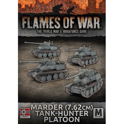 PELOTON MARDER (76,20 mm) 4 unidades - Flames of War GBX110