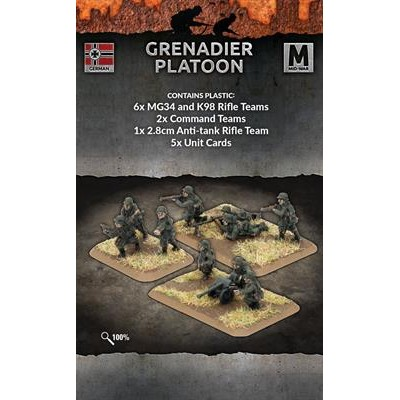 GRENADIER PLATOON - FLAMES OF WAR GE756