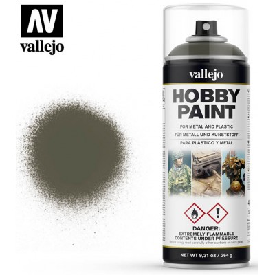 SPRAY HOBBY PAINT VERDE OLIVA 400ml ACRILICOS VALLEJO 28003