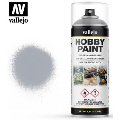 SPRAY HOBBY PAINT PLATA 400ml ACRILICOS VALLEJO 28021