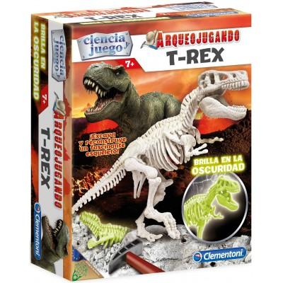 Arqueojugando: T-REX FLUOR - Clementoni 55032